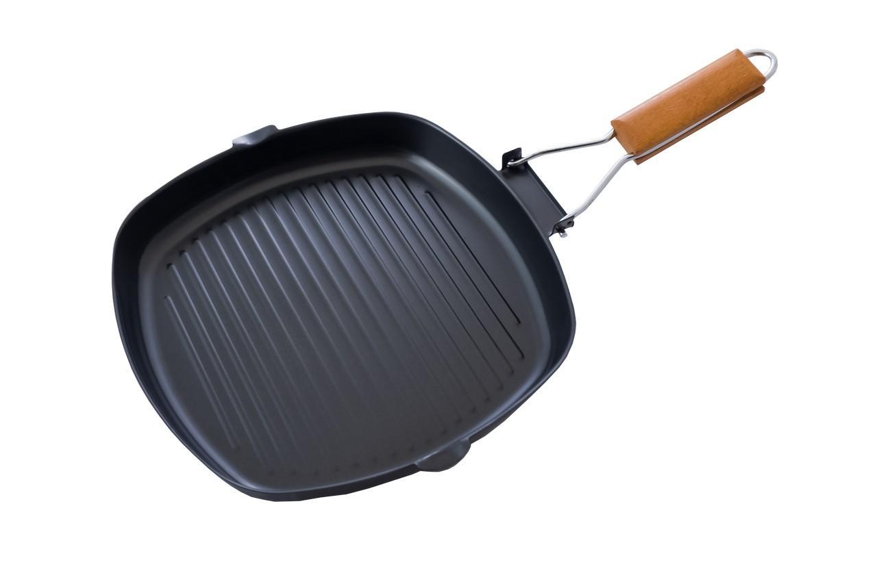 Сковорода-гриль антипригарная Empire - 280 x 280 мм