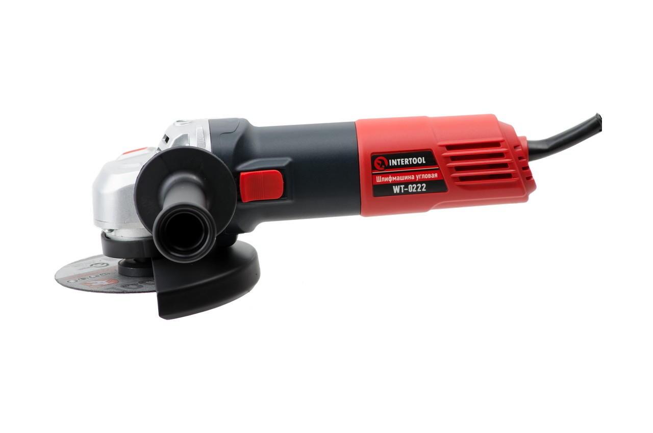 Угловая шлифмашина Intertool - 950 Вт x 125 мм