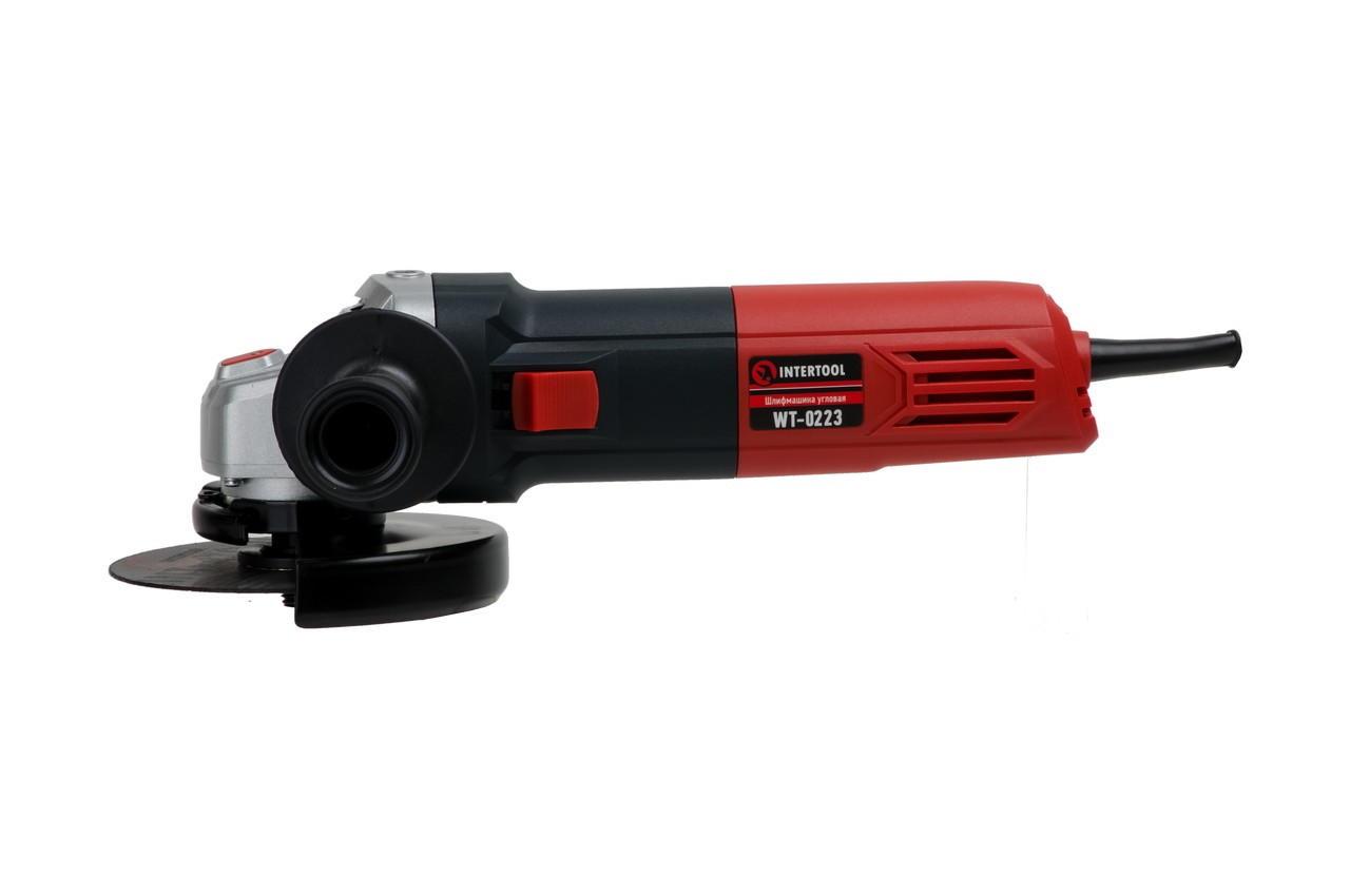 Угловая шлифмашина Intertool - 1100 Вт x 125 мм