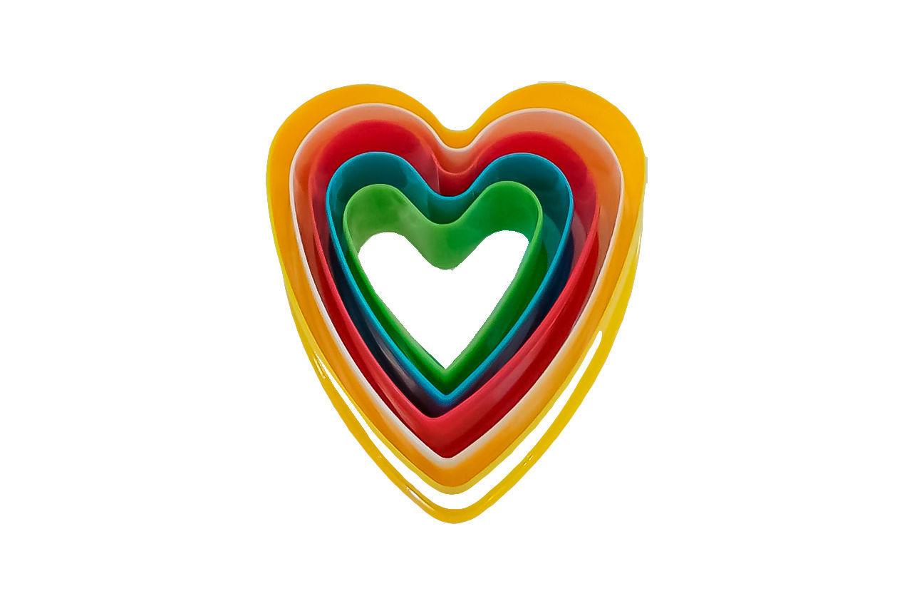 Набор форм для печенья Empire - сердце (5 шт.)