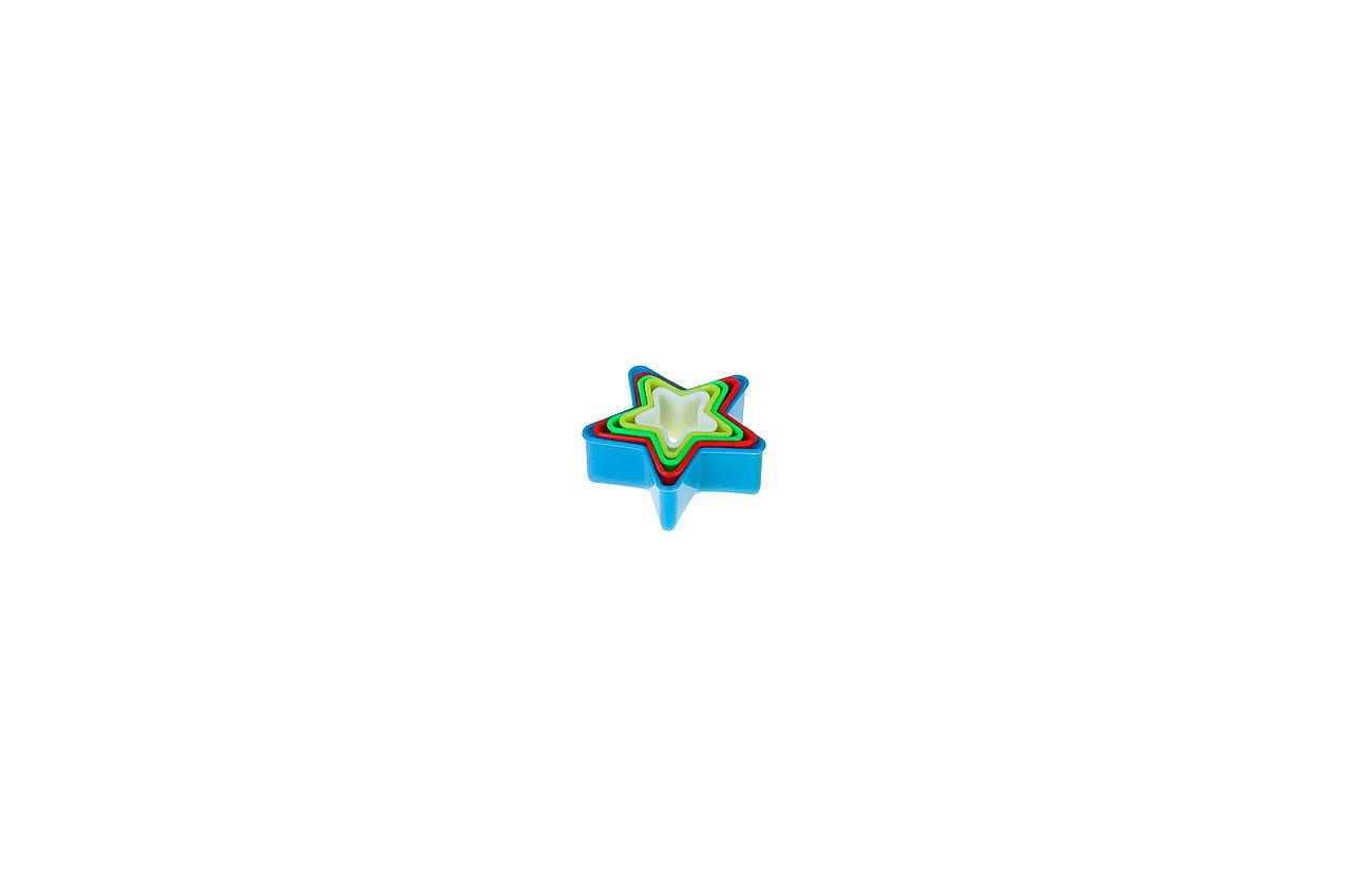 Набор форм для печенья Empire - звезда (5 шт.)