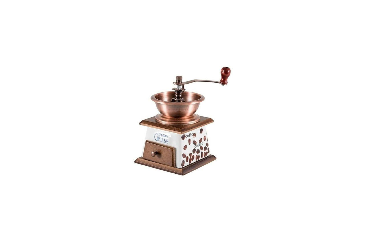 Кофемолка ручная Empire - 185 мм, с керамическим ящиком