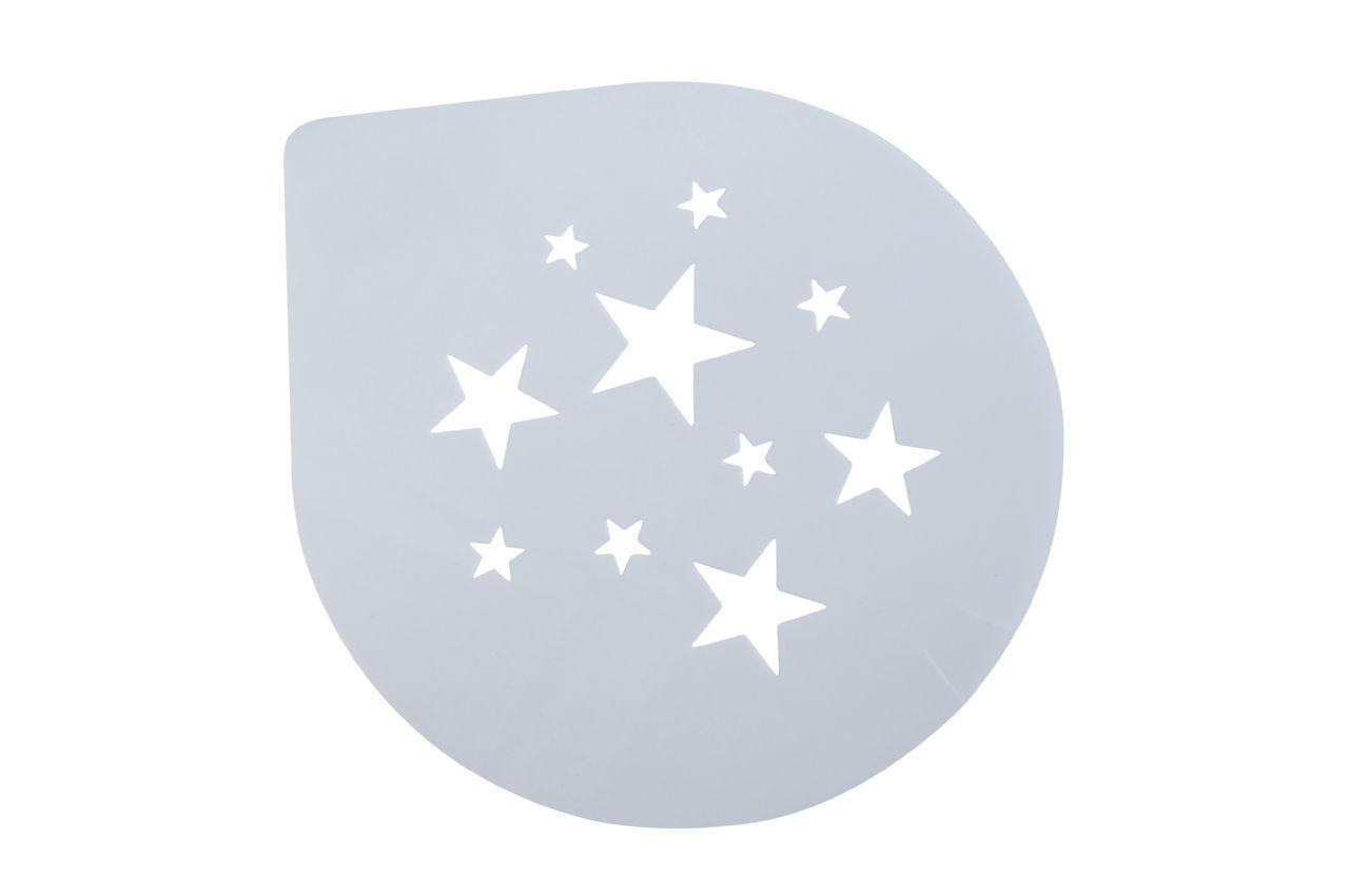 Трафарет для торта Empire - 255 мм, звезды