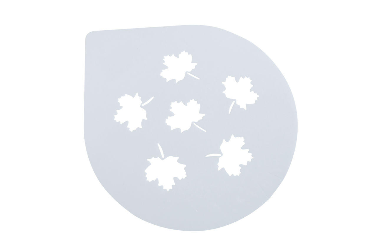 Трафарет для торта Empire - 255 мм, листья