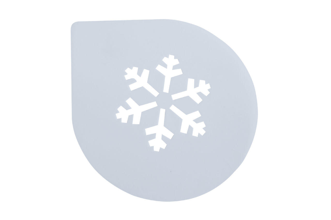 Трафарет для торта Empire - 255 мм, снежинка