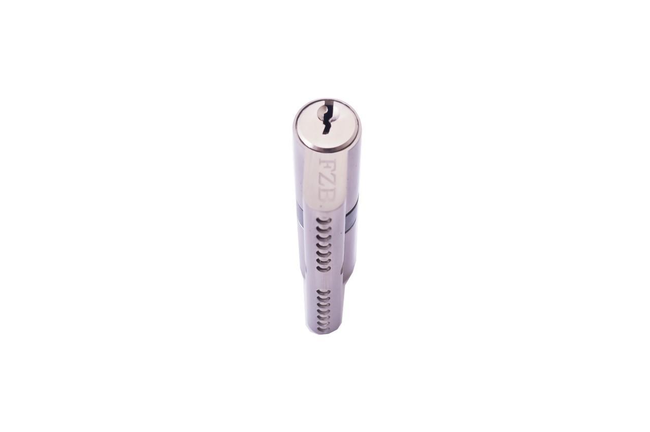 Цилиндр английский FZB - 70 мм 35/35 к/к узкий SN (цинк)