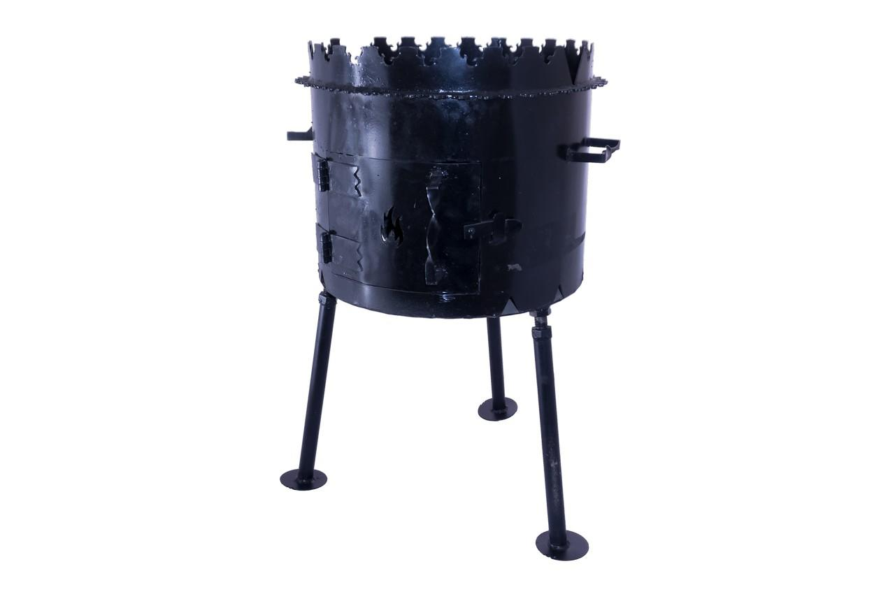 Мангал складной DV - 450 x 350 x 3 мм, горячекатаный, Х08