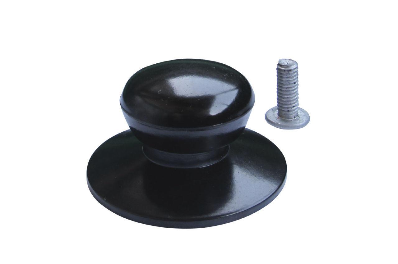 Ручка для крышки Empire - 35 мм, эбонитовая черная