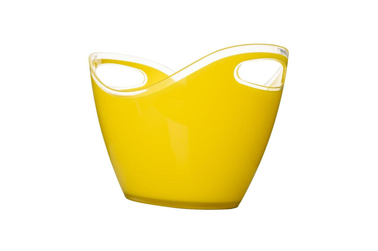 Чаша для шампанского Empire - 3,3 л, желтая