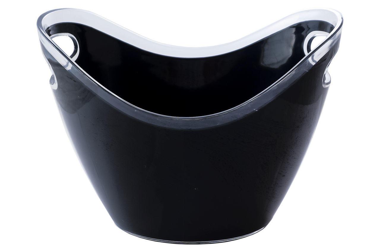 Чаша для шампанского Empire - 3,3 л, черная