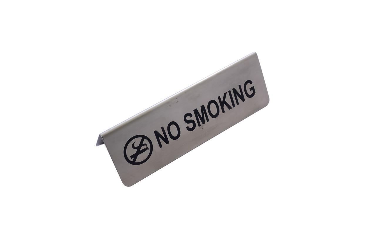 Табличка настольная Empire - 150 x 50 мм, No Smoking