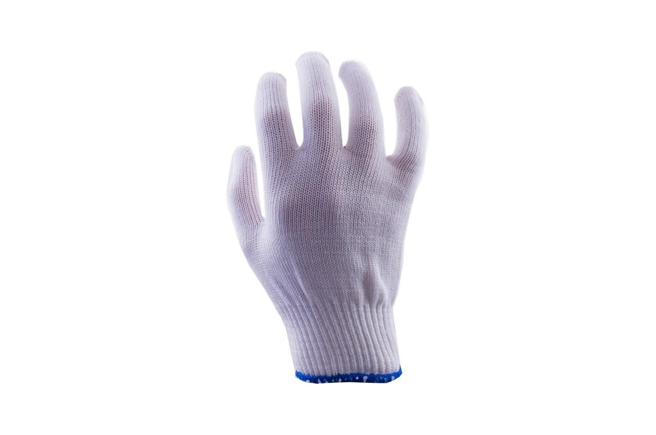 Перчатки Mastertool - х/б без точки 16г белые 10