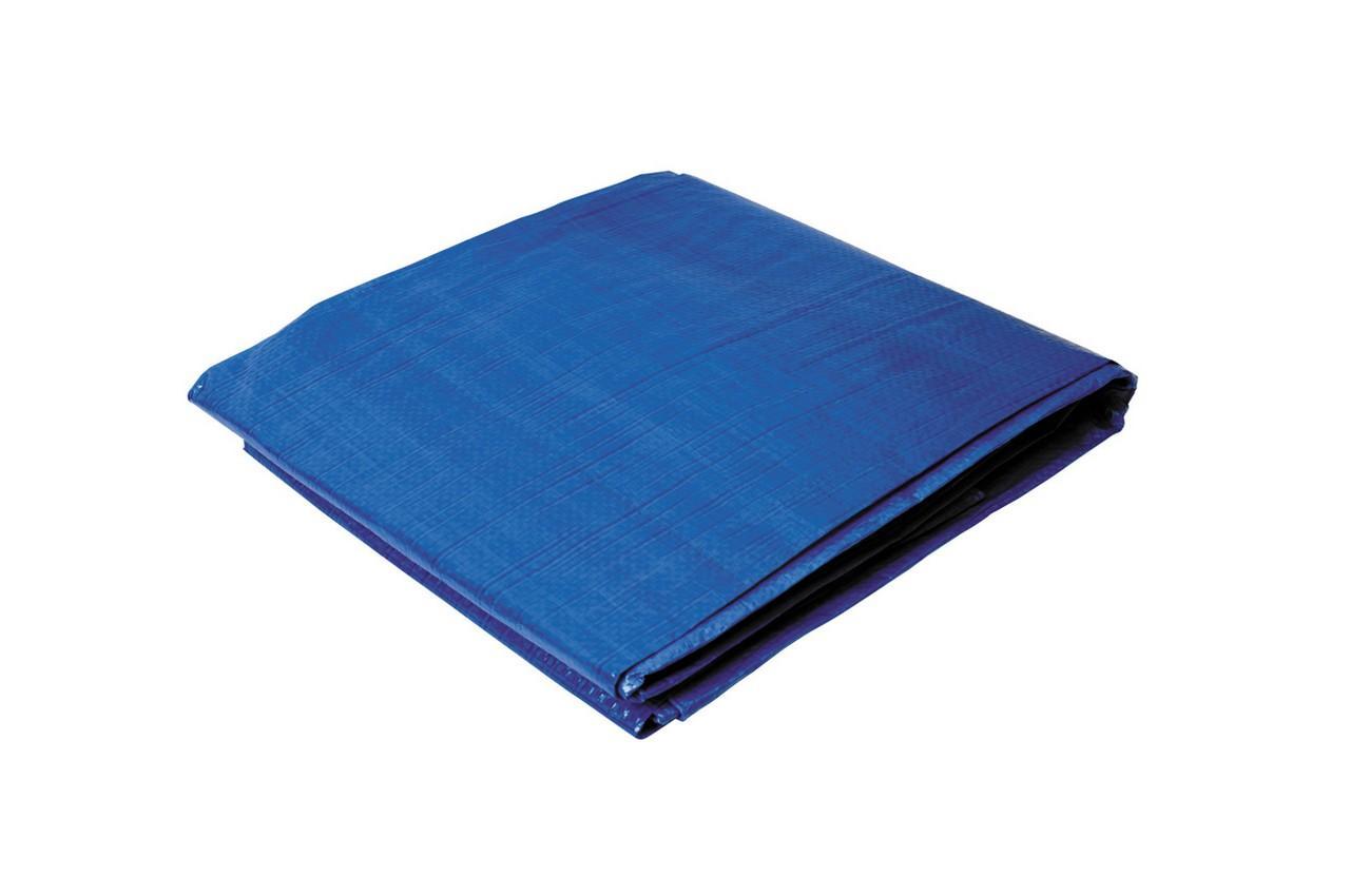 Тент Ти́тул - 5 x 8 м x 55 г/м², синий, 79-9508-В