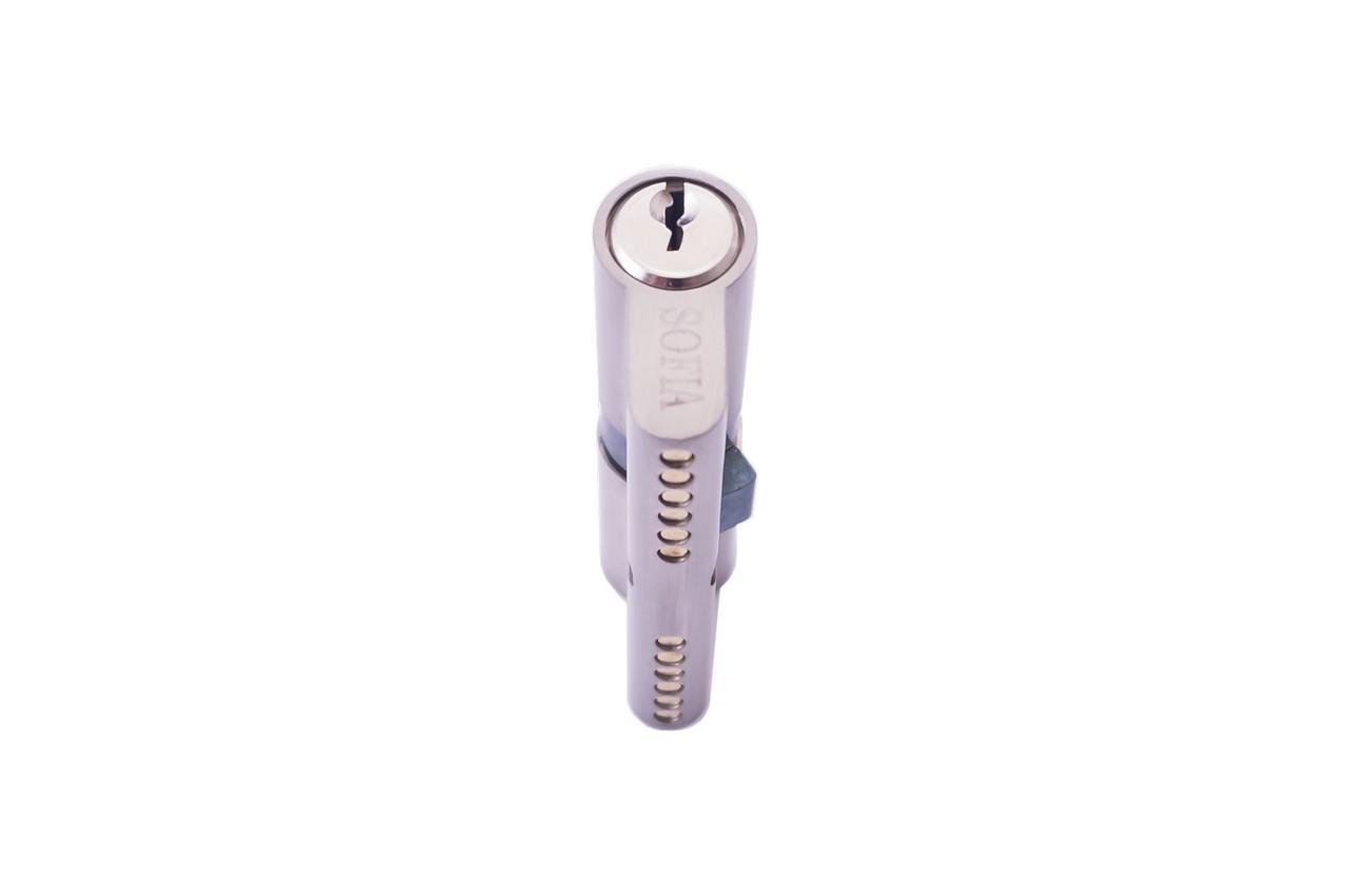 Цилиндр английский FZB - 70 мм 35/35 к/к SN (цинк)