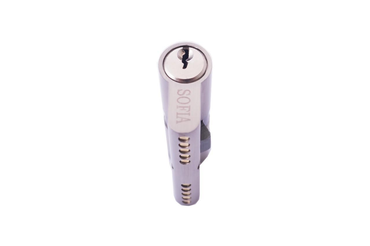 Цилиндр английский FZB - 60 мм 30/30 к/к SN (цинк)