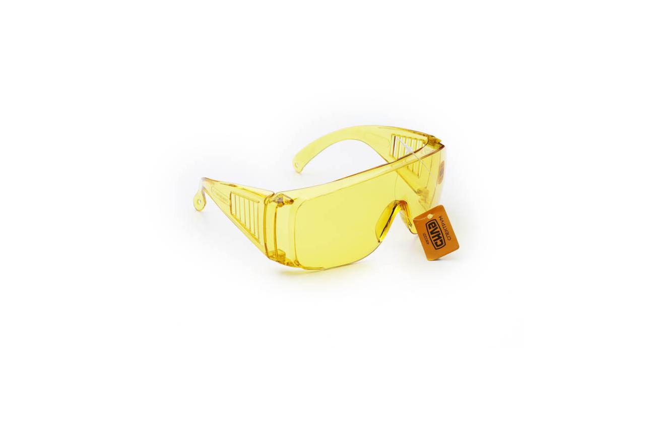 Очки защитные Сила - спектрум желтые