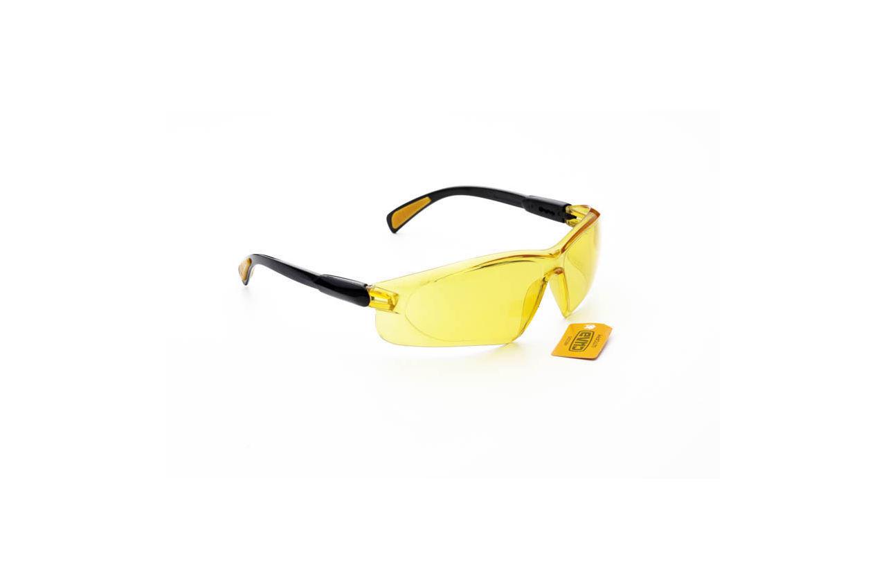 Очки защитные Сила - шторм желтые
