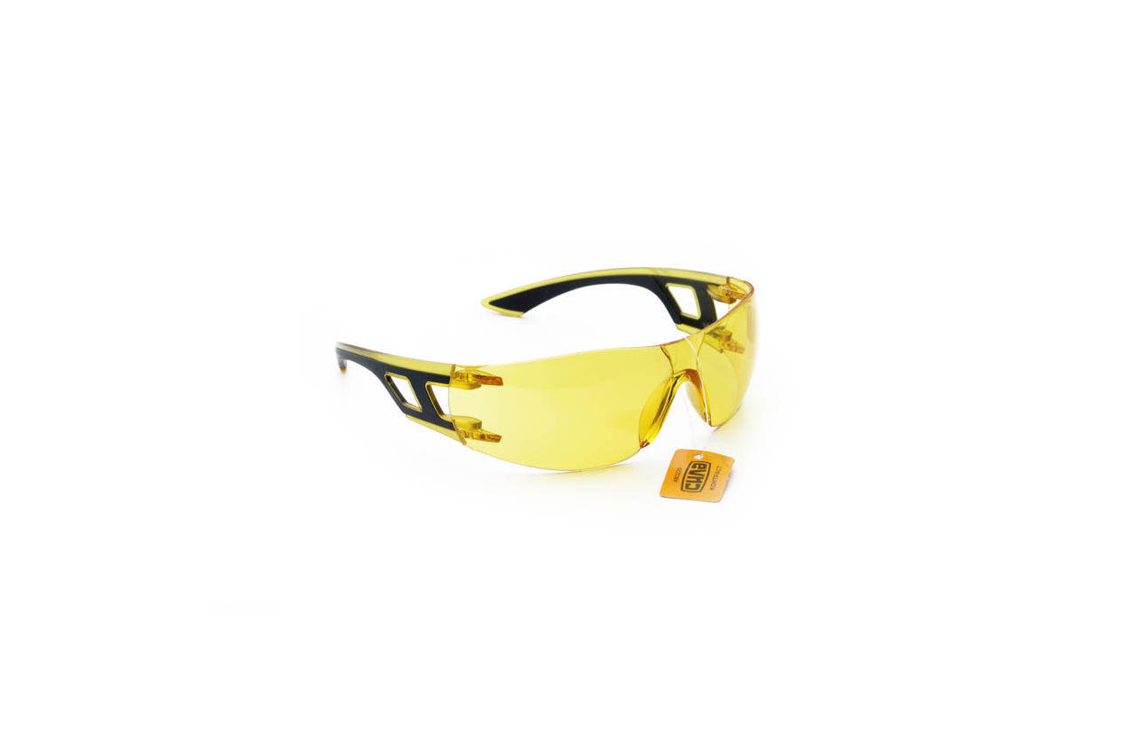 Очки защитные Сила - контраст желтые