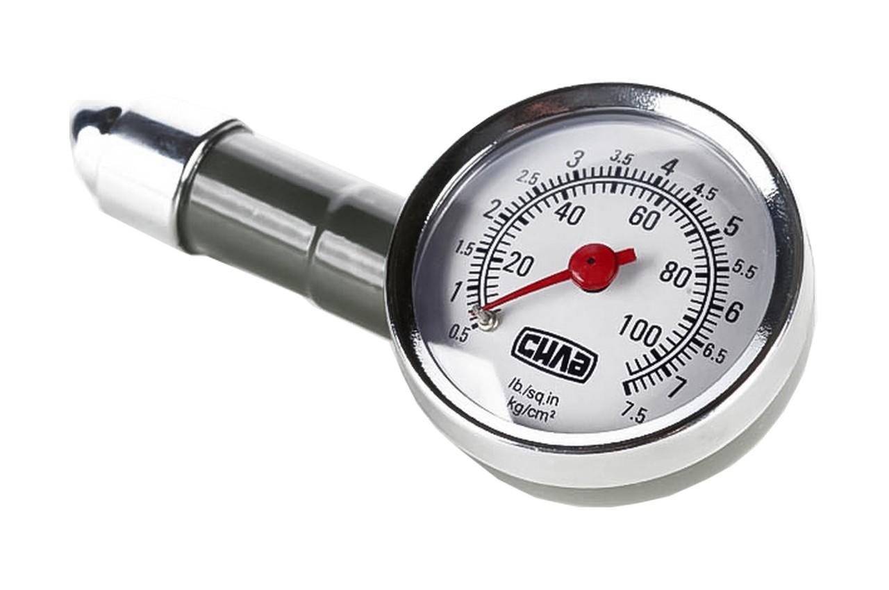 Манометр Сила - 7,5 атм., металлический в кейсе