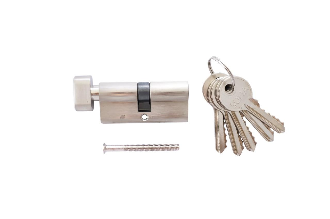 Цилиндр английский FZB - 70 мм 35/35 к/п SN (цинк), 13-06-005