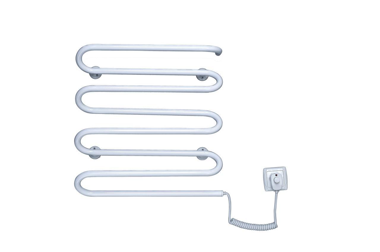 Полотенцесушитель электрический Элна - волна 8 (б-л)
