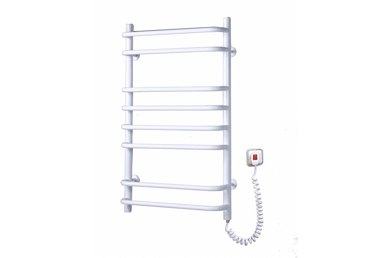 Полотенцесушитель электрический Элна - стандарт 8 с регулятором (б-л), Ст823л