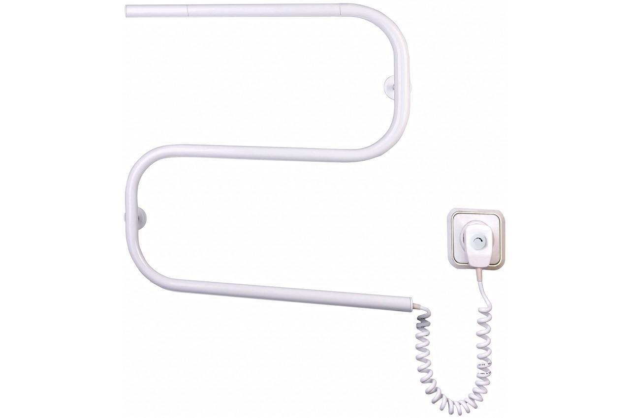 Полотенцесушитель электрический Элна - змейка S (б-л), Зм321л