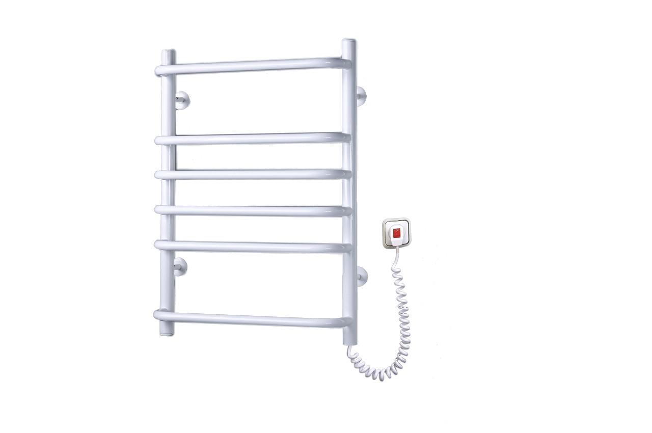 Полотенцесушитель электрический Elna - стандарт 6 с регулятором (б-л)