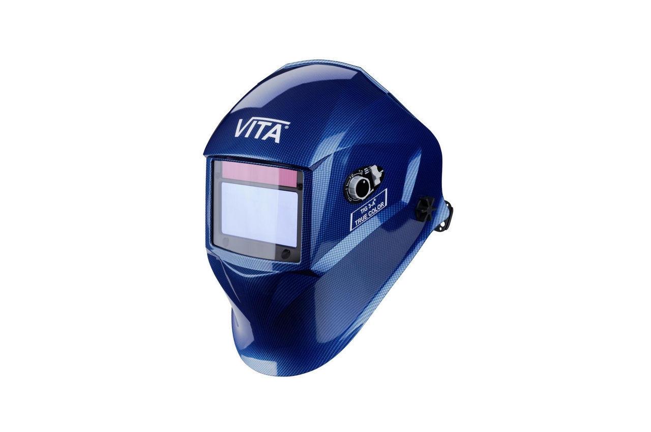 Маска сварочная Vita - TIG 3-A TrueColor, синяя