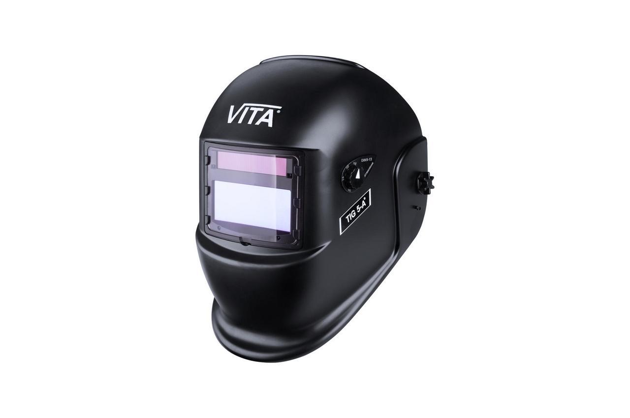 Маска сварочная Vita - TIG 5-A, черная