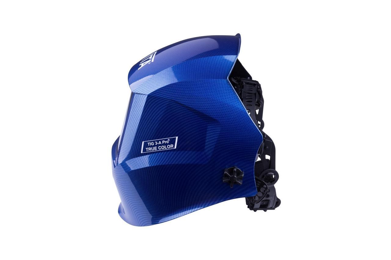 Маска сварочная Vita - TIG 3-A TrueColor PROF, синяя