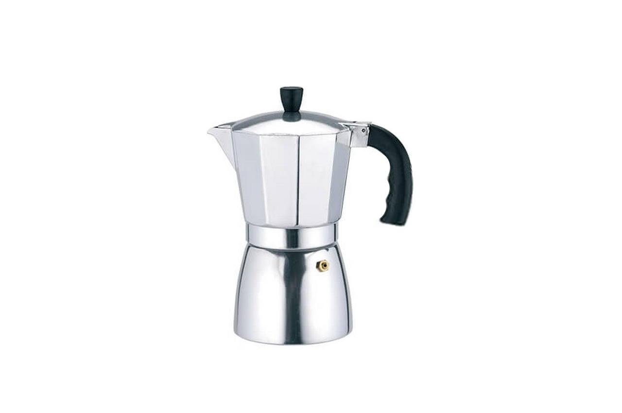 Кофеварка гейзерная алюминиевая Rainbow - 900 мл MR-1667-9