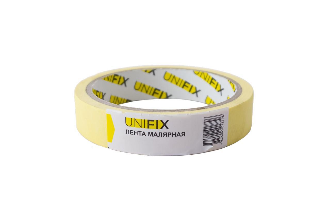 Лента малярная Unifix - 20 мм x 20 м, желтая 5 шт.