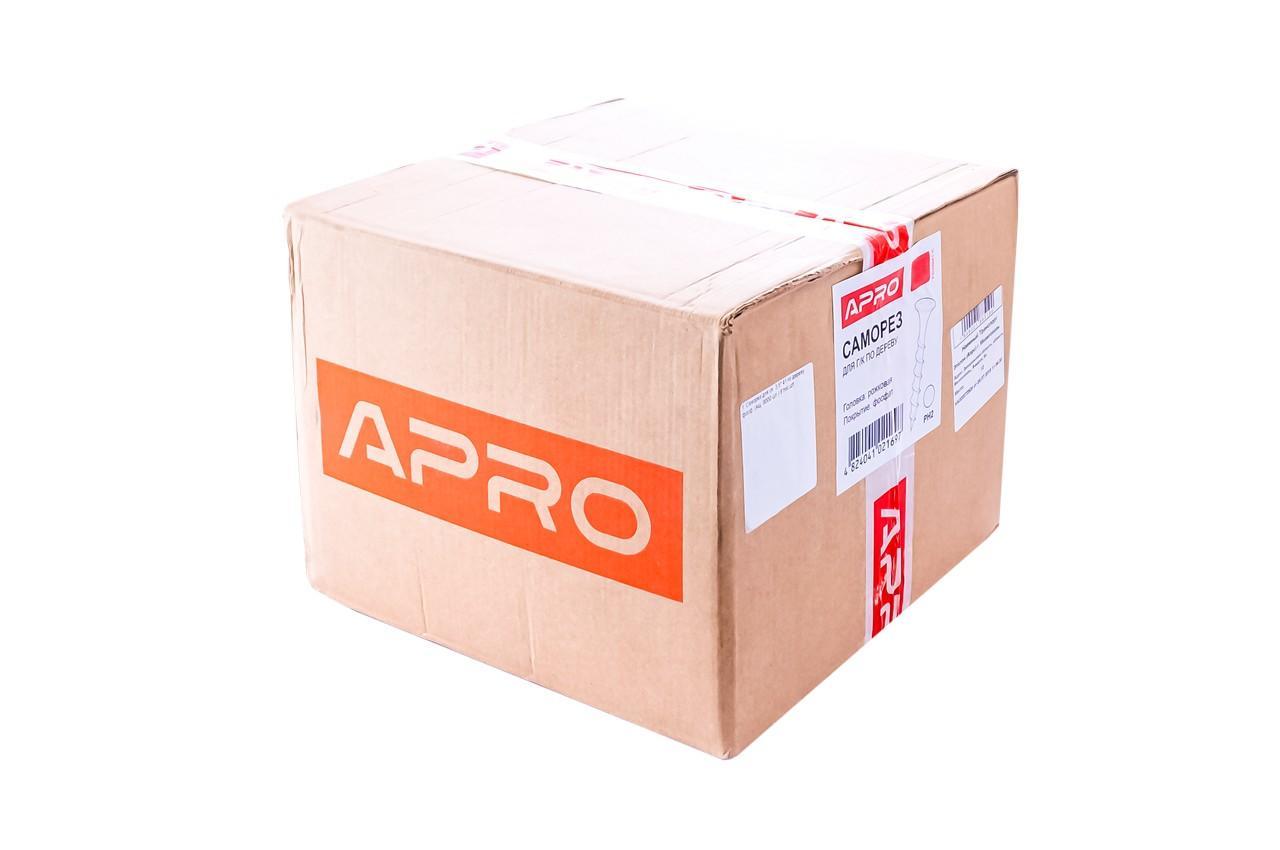 Саморез по дереву Apro - 3,5 x 25 мм (12000 шт.)