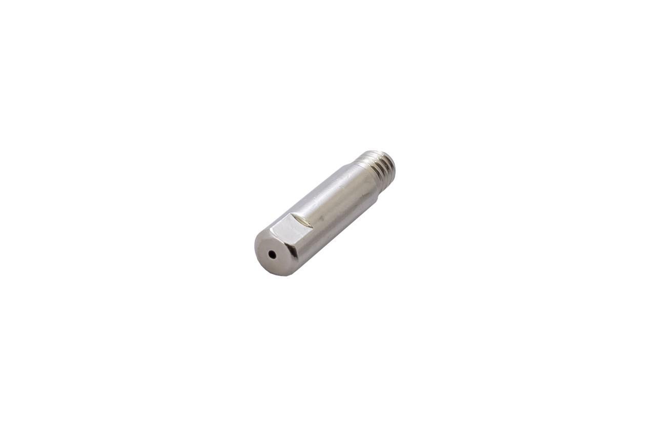 Наконечник для сварочных полуавтоматов Vita - 0,8 мм E-Cu-Nickel М6 x D6 мм x L25 мм