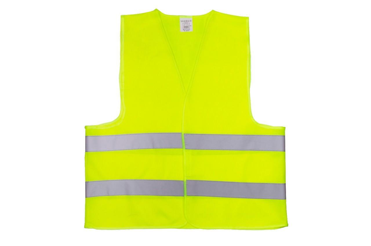 Жилет светоотражающий Vita - 4XL желтый 120 г/м²