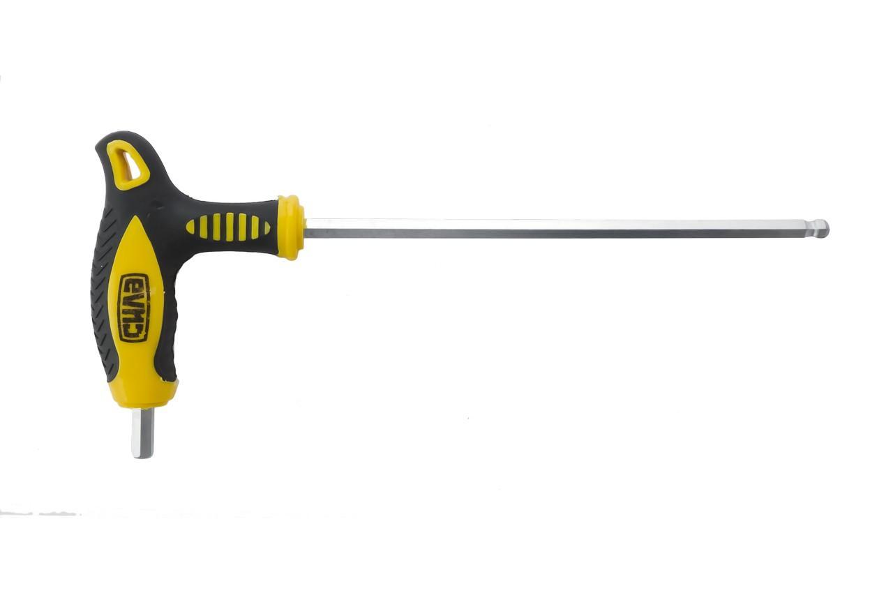 Ключ шестигранный T-образный Сила - 6 мм