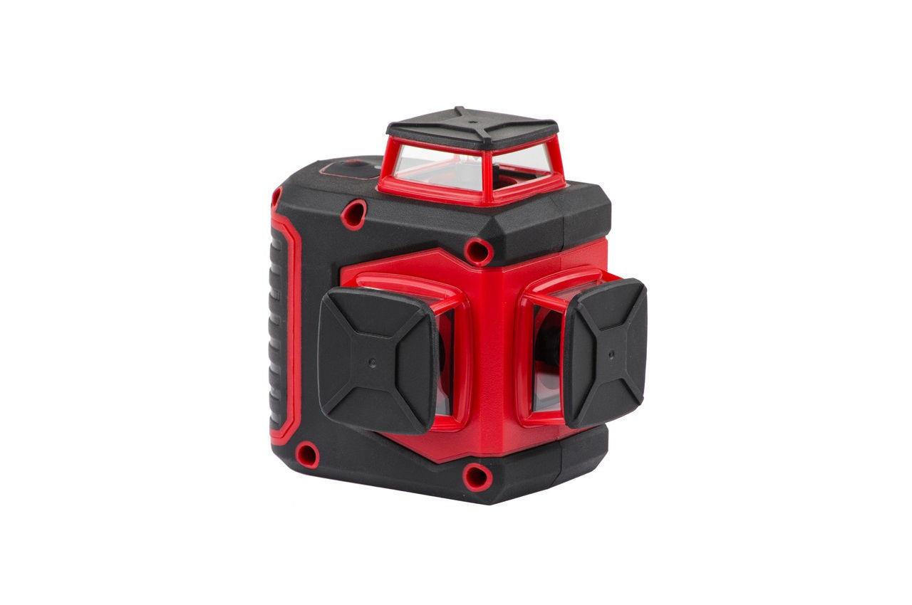 Уровень лазерный Intertool - 360° x 3 головки, MT-3057