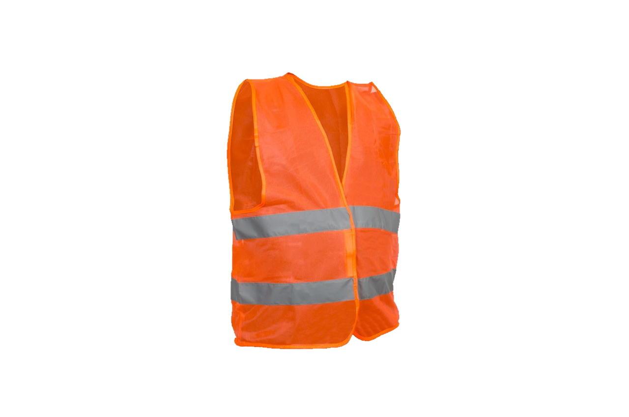 Жилет светоотражающий Intertool - XXL x 100 г/м² оранжевый