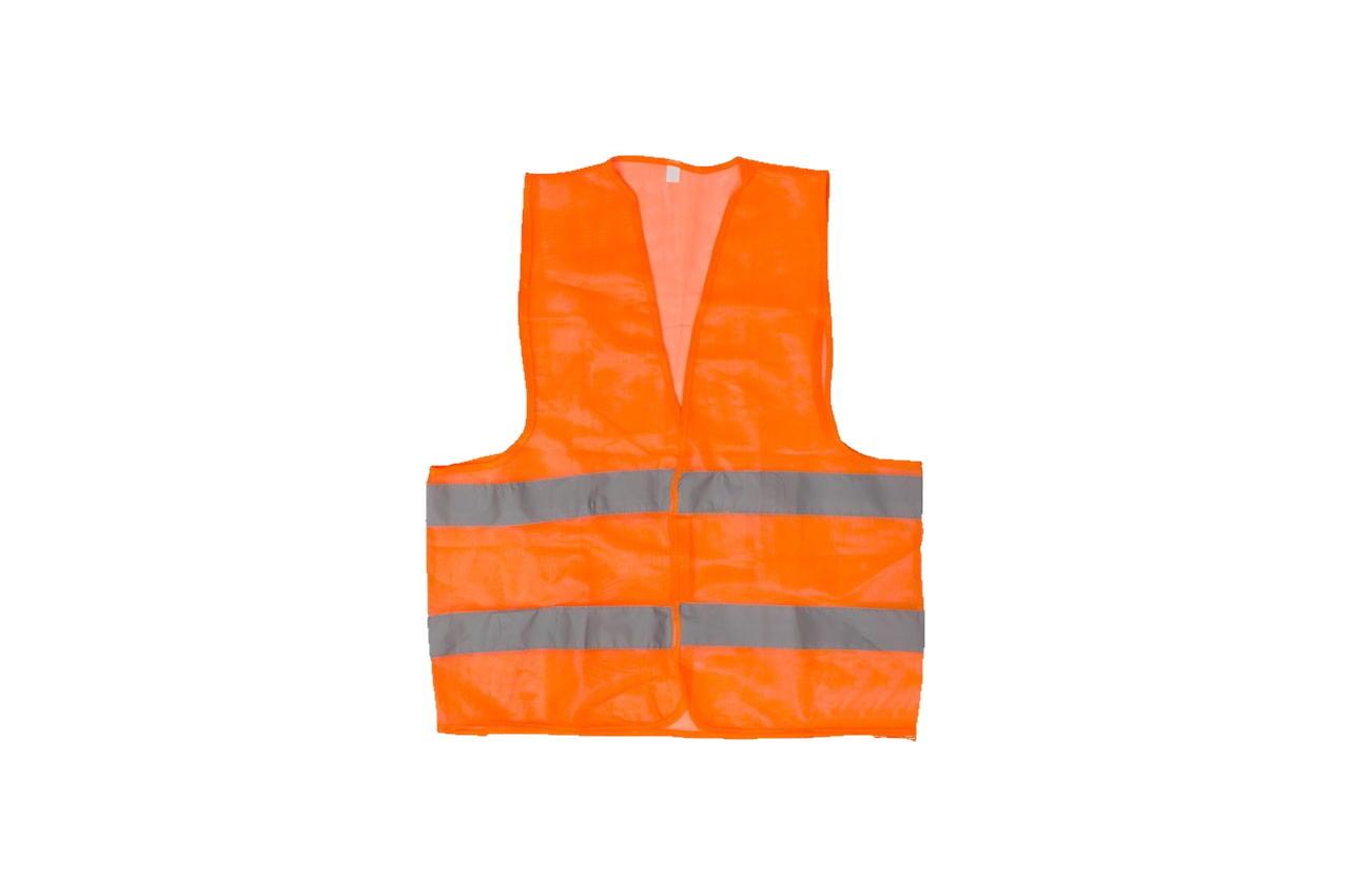Жилет светоотражающий Intertool - XL x 120 г/м² оранжевый