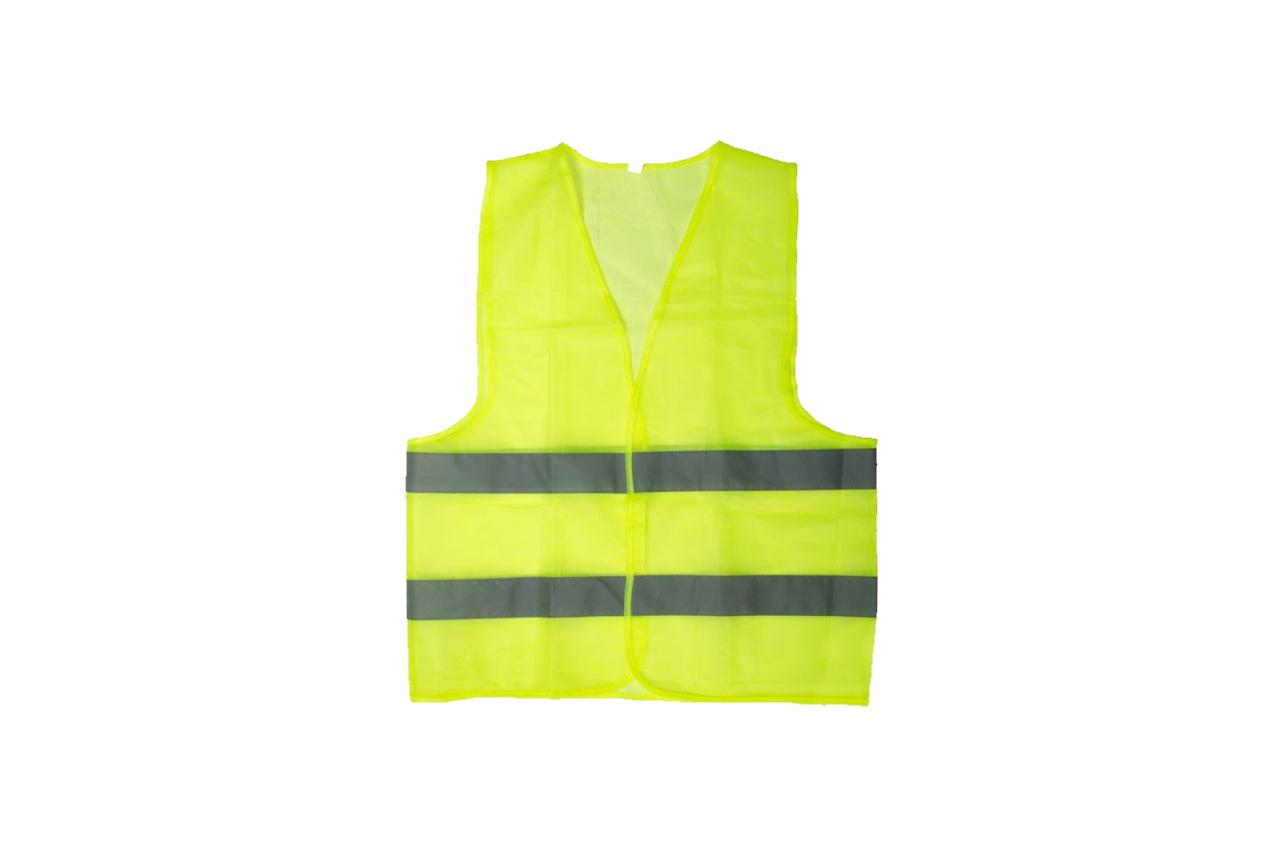 Жилет светоотражающий Intertool - XL x 120 г/м² зеленый