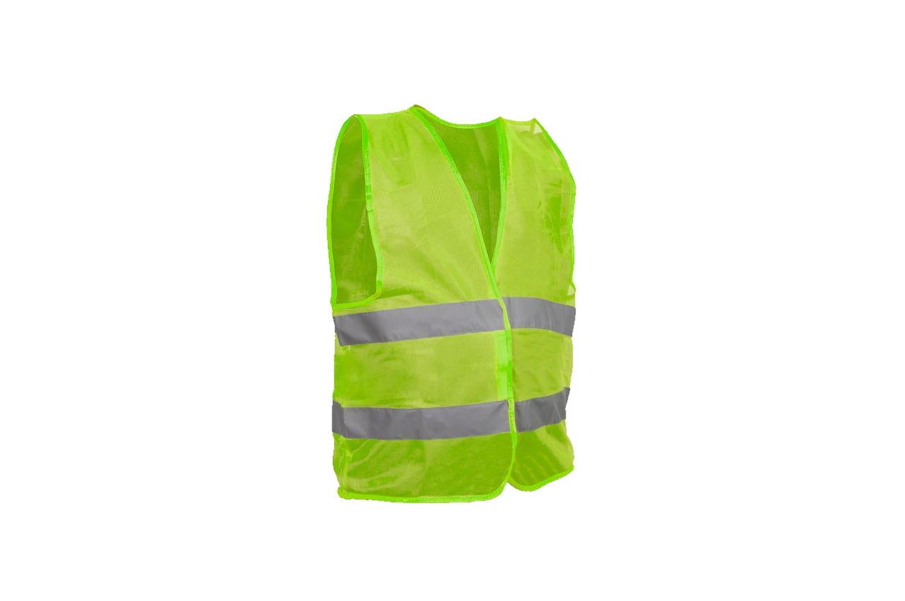Жилет светоотражающий Intertool - XXL x 100 г/м² зеленый