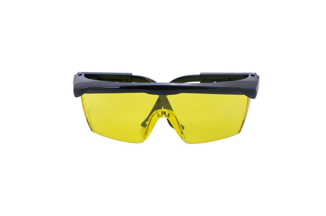 Очки Housetools - выдвижные дужки желтые