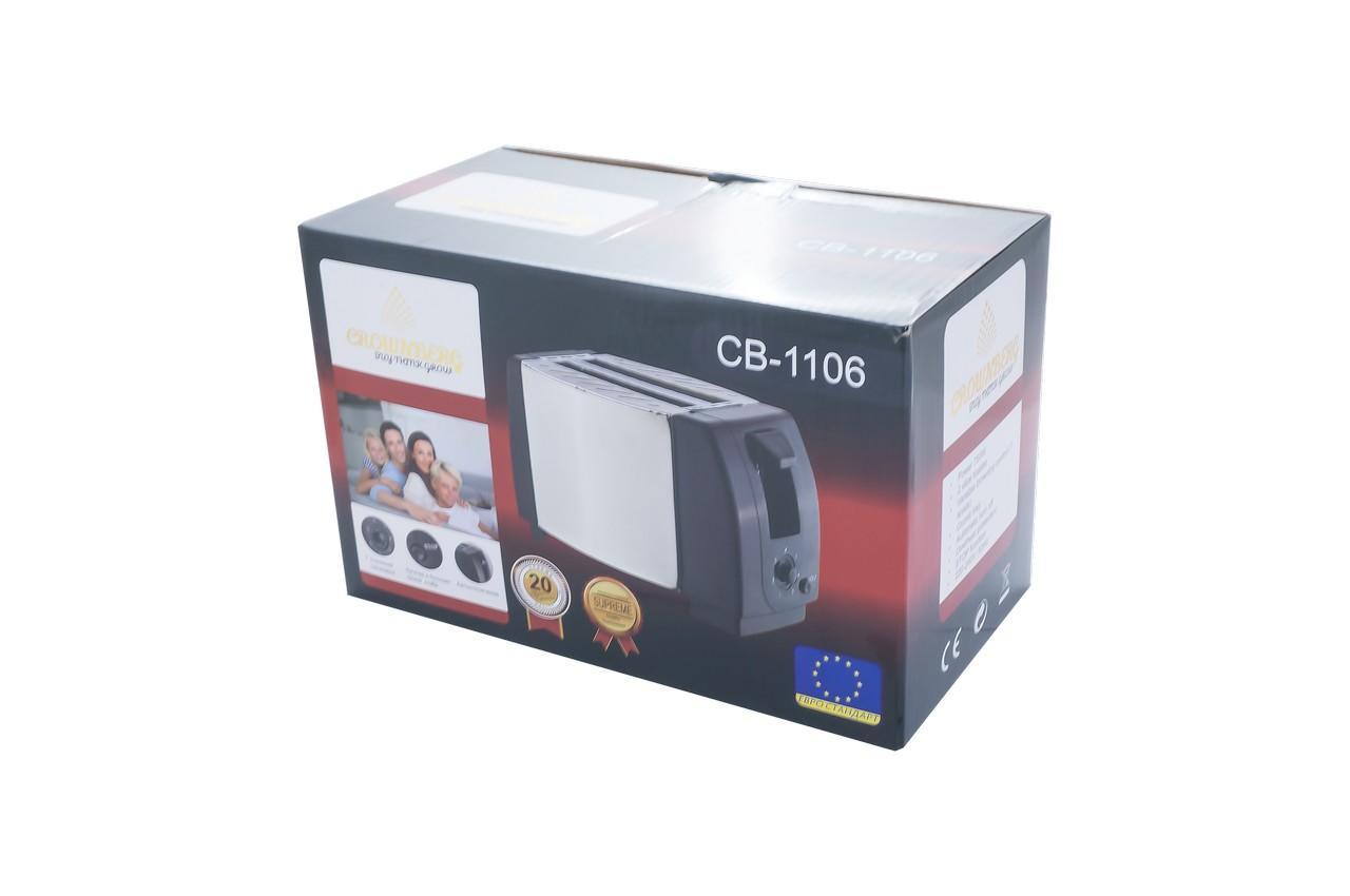 Тостер Crownberg - CB-1106