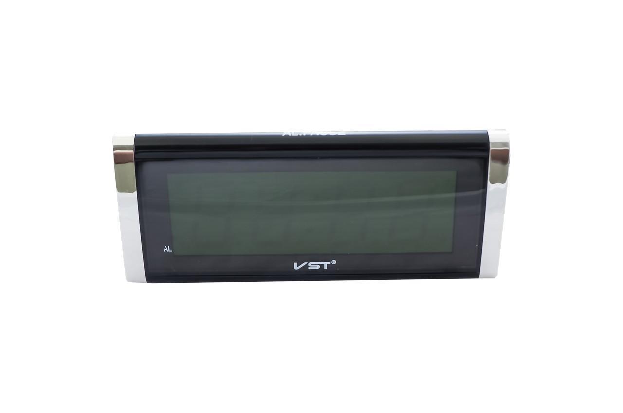 Часы настольные VST - 730, зеленые
