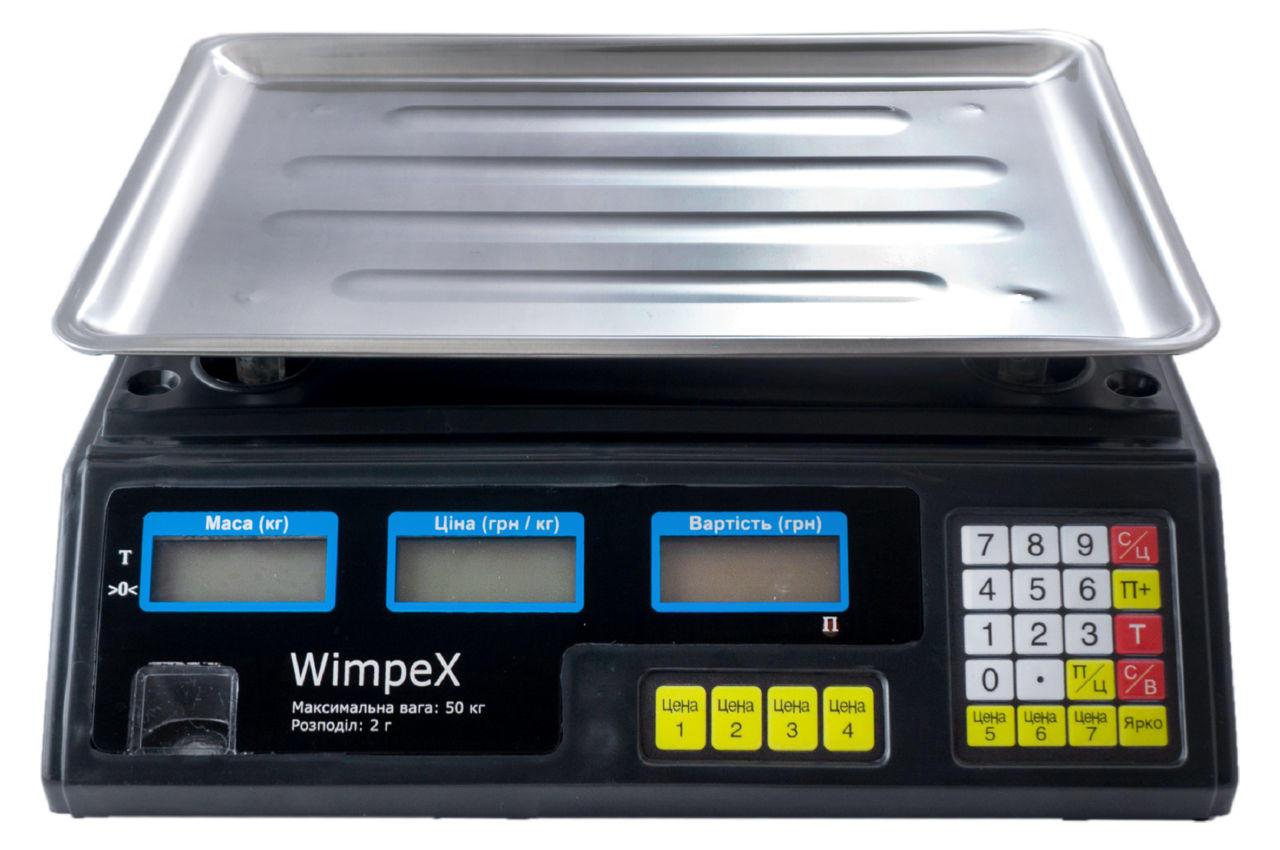 Весы торговые Wimpex - WX-4V 1 шт.