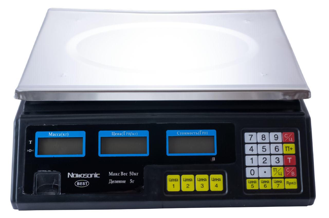 Весы торговые Nokasonic - NK-40-4v