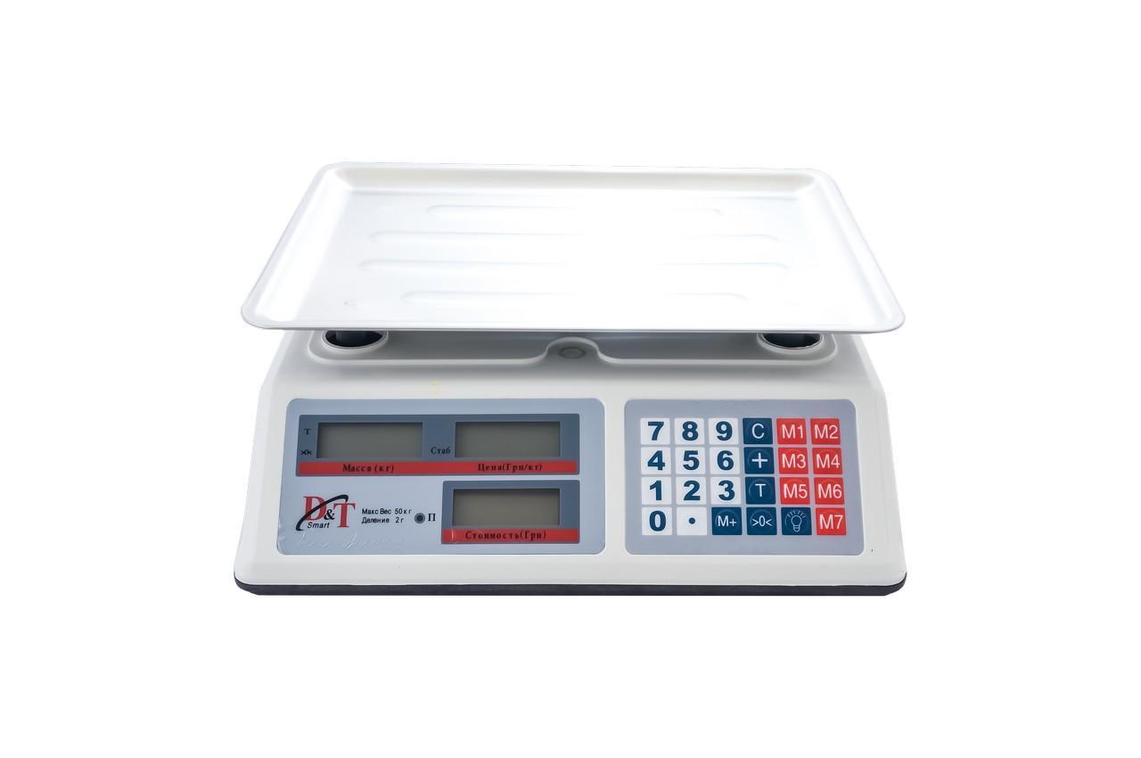 Весы торговые Domotec - DT-52
