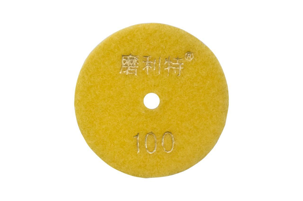 Диск алмазный шлифовальный Асеса - 80 мм x P100