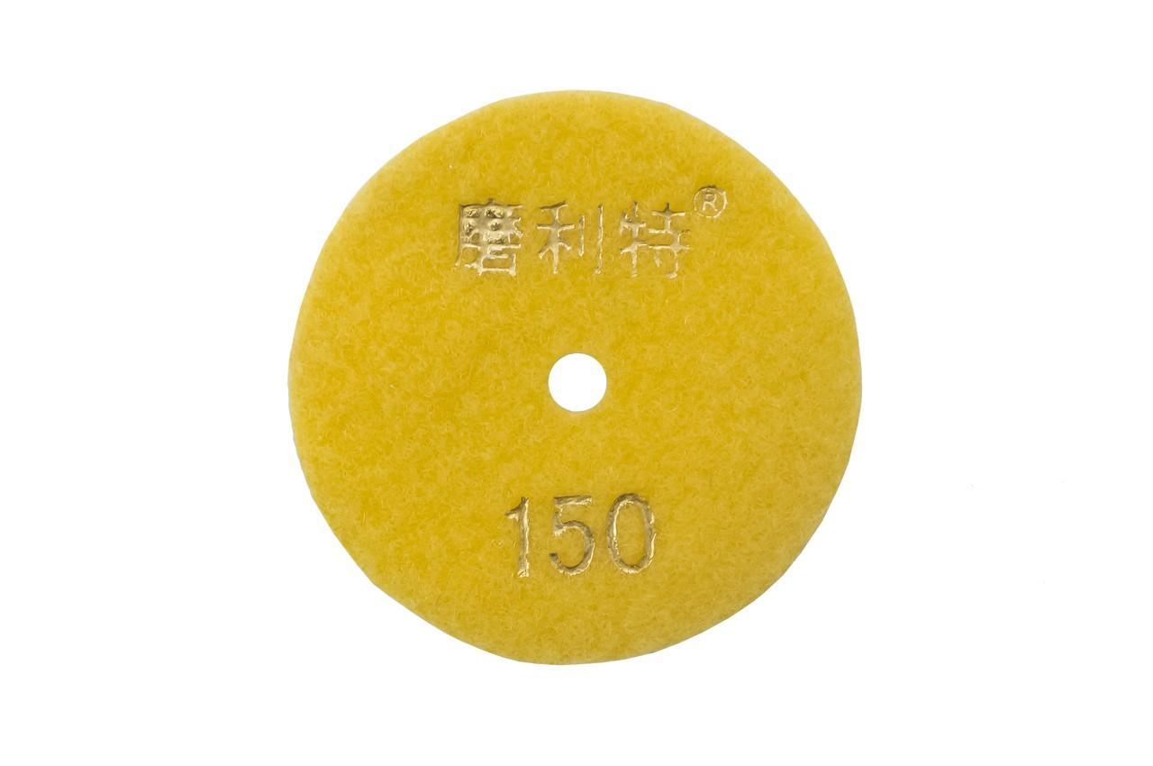 Диск алмазный шлифовальный Асеса - 80 мм x P150